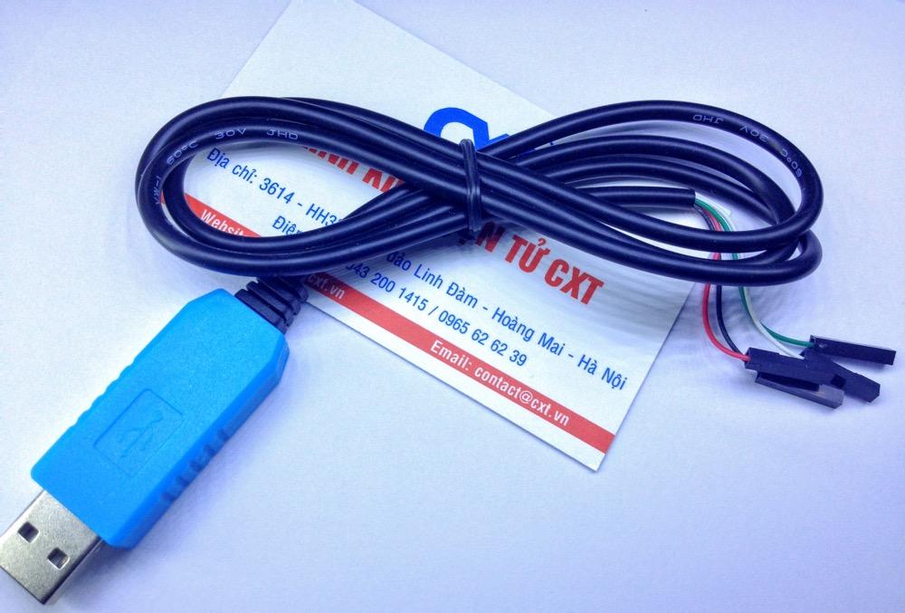 Dây chuyển đổi USB/UART