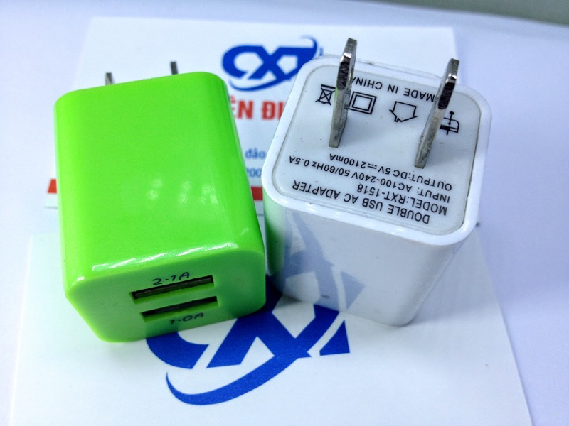 USB charger 5Vx2