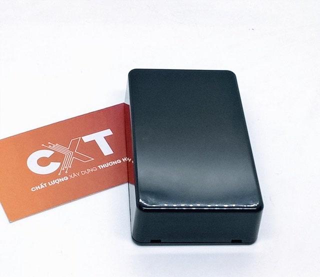 Hộp nhựa ABS 100x60x25mm màu đen