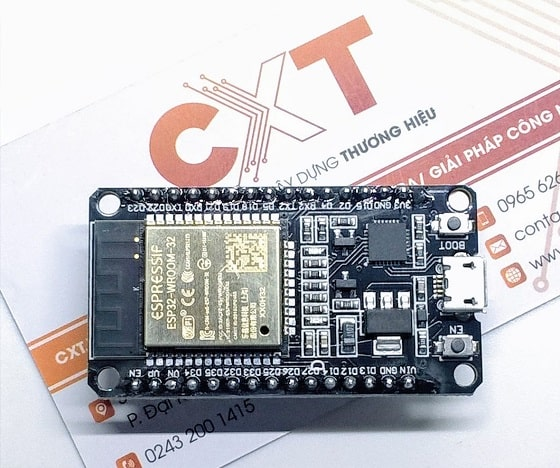 Kit RF thu phát Wifi BLE ESP32 NodeMCU LuaNode32