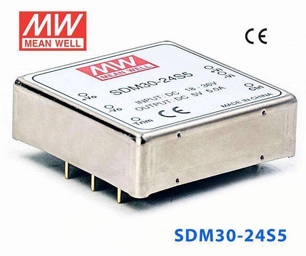 Module nguồn Meanwell SDM30-24S5