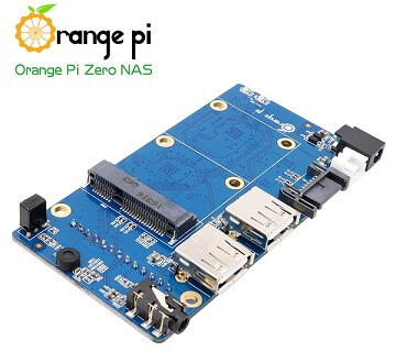 Board Orange Pi Zero NAS Expansion