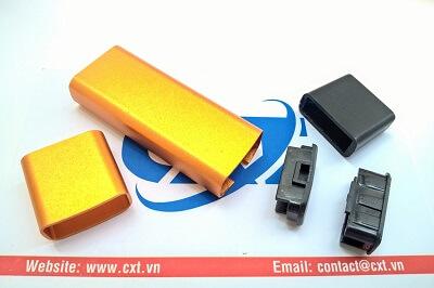 Vỏ USB 42x17x7mm Vàng Chưa In